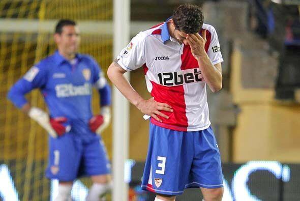 Este resultado deja muy tocado al Sevilla, que se vio afectado por el re...