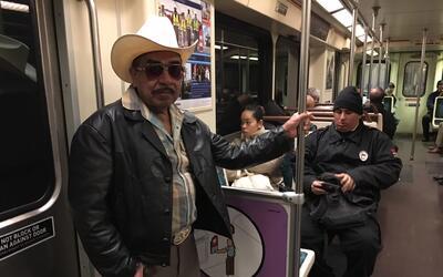 Paulino Pacheco, un inmigrante mexicano, utilizó la Línea...