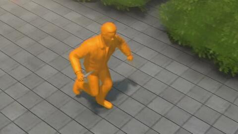En esta simulación puede evidenciarse lo que ocurrió durante el ataque e...