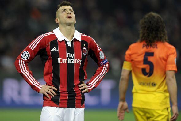 Su problema era que en las primeras oportunidades de dañar al Barcelona...