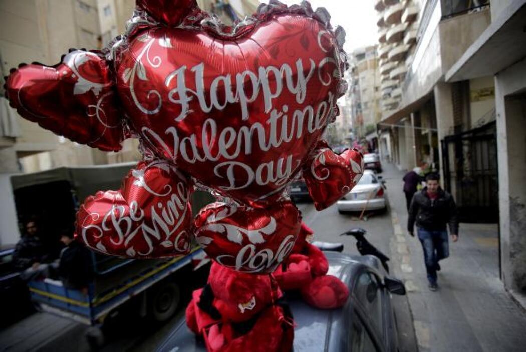 Con flores y globos por doquier nos muestran que ya están listos para fe...
