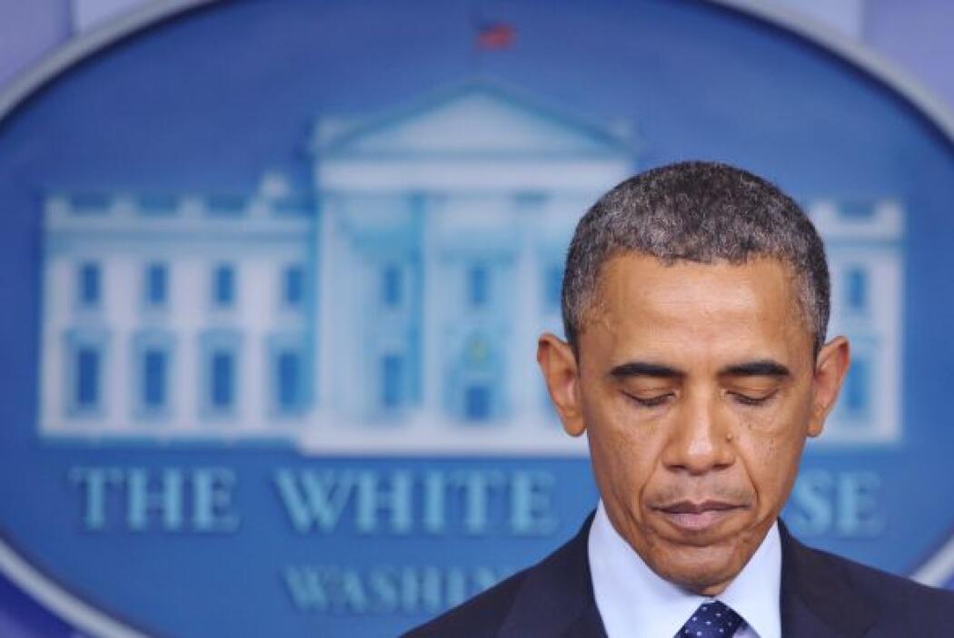La Casa Blanca había informado previamente que Obama fue avisado del inc...