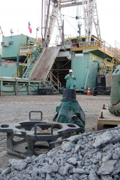 El diámetro de entre 60 y 70 centímetros es necesario para que los miner...