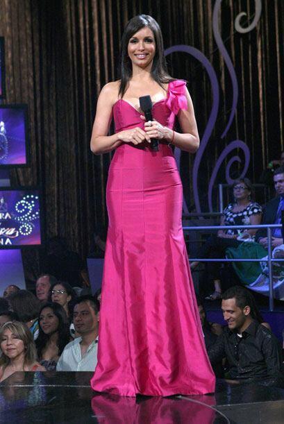 Para la gran final de Nuestra Belleza Latina, Giselle Blondet, lució un...
