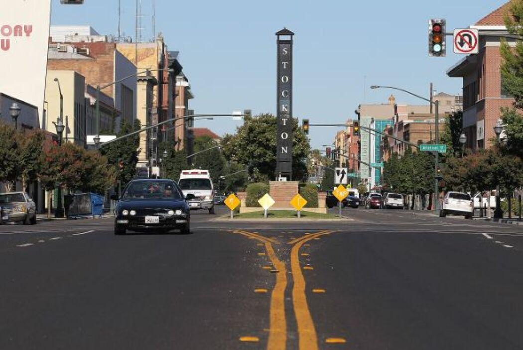 #8 Stockton, California. El año pasado había quedado en noveno lugar de...