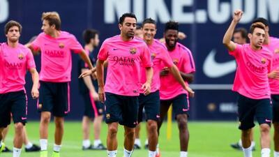 Xavi será el primer capitán del cuadro barcelonista.