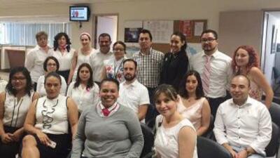 Empleados locales del Consulado de México en Los Angeles, California. (F...