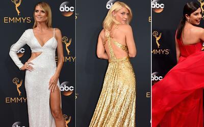 Diseños atrevidos, brillantes y con mucho vuelo en los Premios Emmy