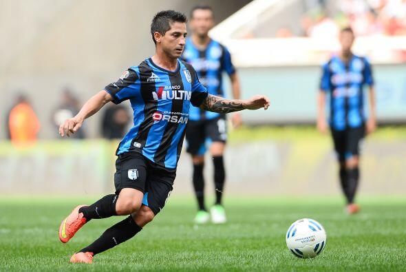Danilinho, el brasileño llegó al Querétaro con grandes expectativas de s...