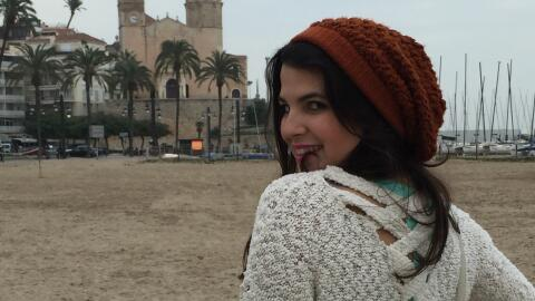 Gracias a una beca que le cubre 60 créditos, Paloma López puede estudiar...