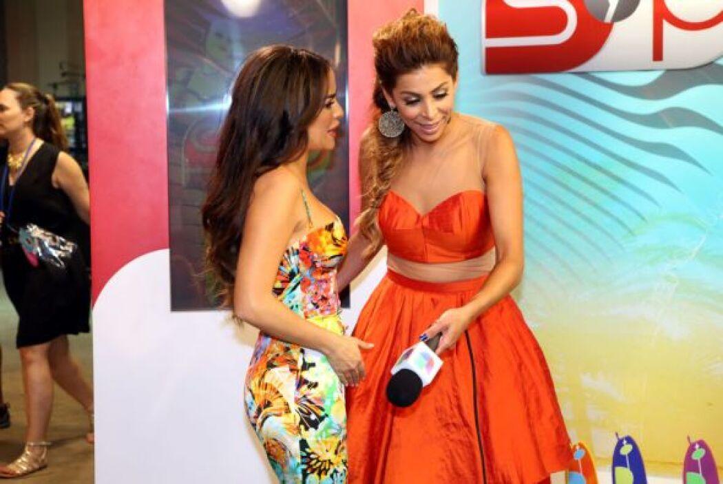 """La actriz es protagonista de la telenovela """"Qué Bonito Amor""""."""