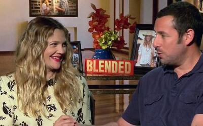 DAM Drew Barrymore & Adam Sandler - 'Blended'