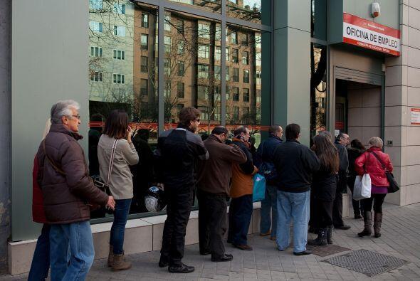 El número de personas que solicitaron prestaciones por desempleo en Espa...
