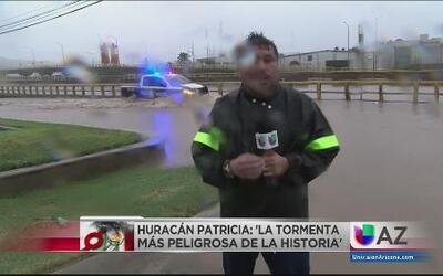 Lo último desde México: Huracán Patricia
