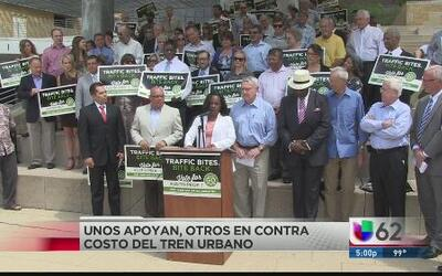 La construcción del nuevo tren urbano divide a la opinión pública