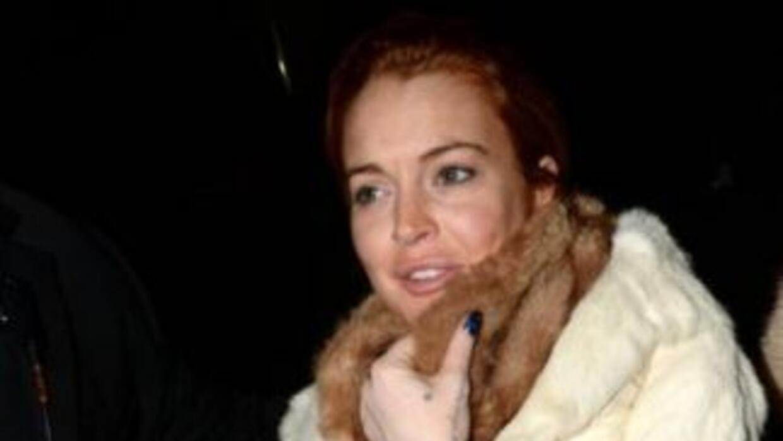 La actriz Lindsay Lohan presume ante sus amigas del que podría ser su nu...