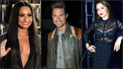 Demi Lovato quiere trabajar con Sebastian Rulli, pareja de la actriz Ang...