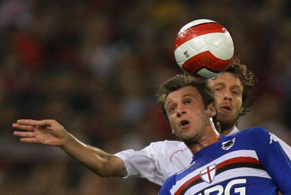 Terminó su aventura por España y aceptó la propuesta de la Sampdoria.