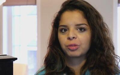 Una joven hispana necesita un milagro para seguir con vida
