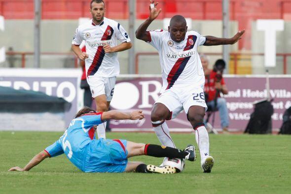 Entre el resto de los encuentros, Catania se vio las caras con el Bolonia.