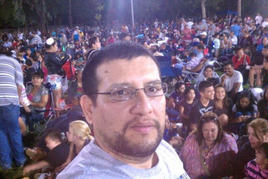 Antonio Fabian Murcia desde Cadahy, California.