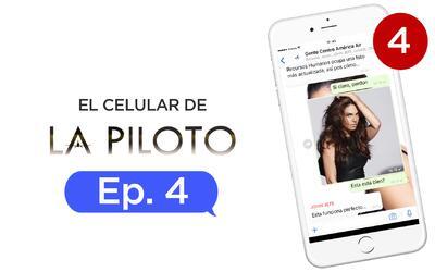 El celular de La piloto Capítulo 4