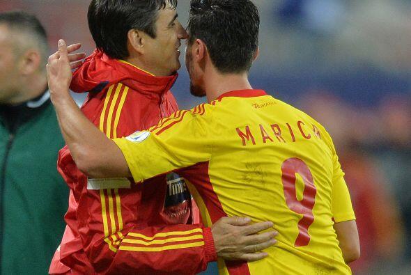 Ciprian Marica, jugador rumano que juega para el Getafe de España.