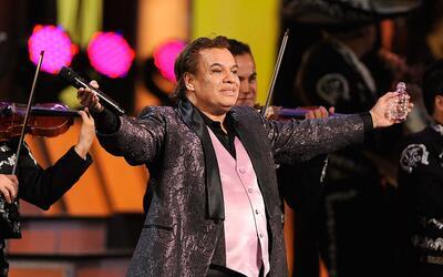'Juan Ga' durante su presentación en los premios GRAMMY latinos...