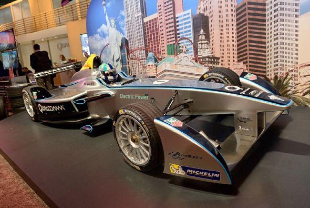El Spark-Renault SRT_01E será el nuevo auto utilizado en la Formula E co...