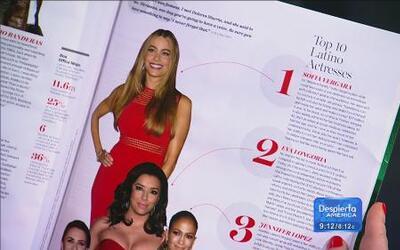 Sofía Vergara en la lista de los latinos más influyentes
