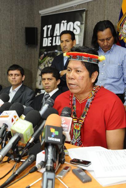 Los $9,500 millones se deben pagar a las comunidades de la Amazon&iacute...