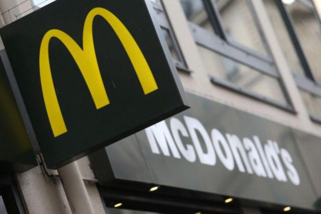 5. MCDONALD'S. La empresa de comida rápida cayó un puesto, pero sigue en...