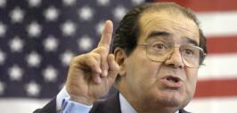 Antonin Scalia magistrado fallecido de la Corte Suprema