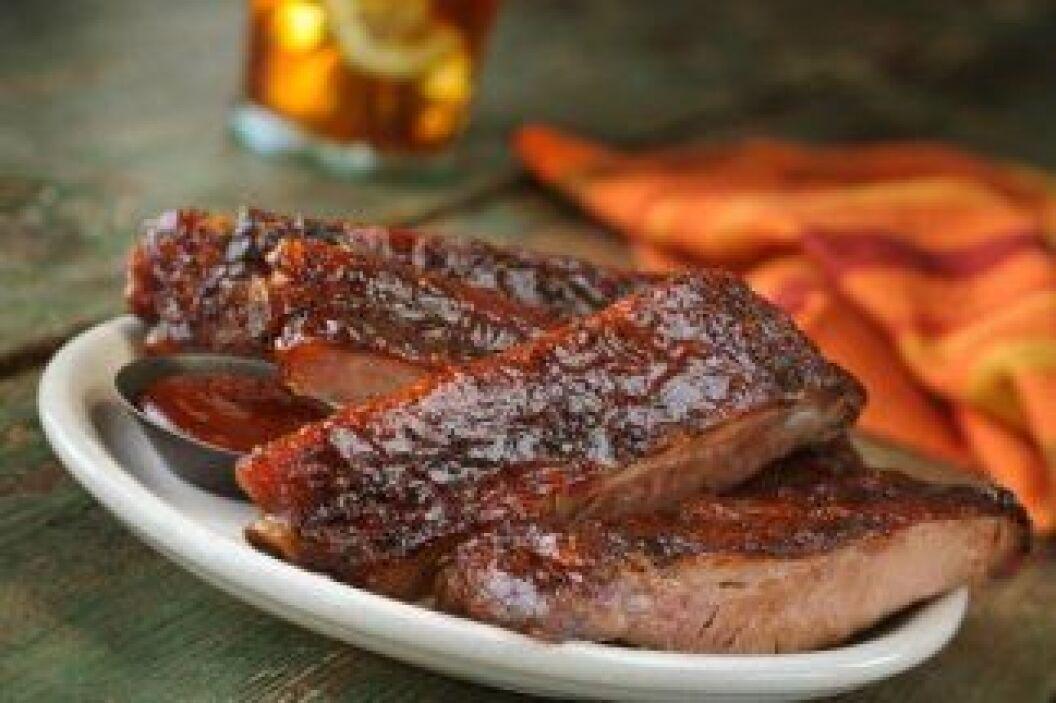 Costillas con salsa de cereza: Que mejor para una cena de verano que una...