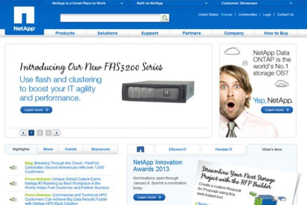 6.NET APP-  Número de empleados-6,887.  Industria- Tecnologías de la inf...