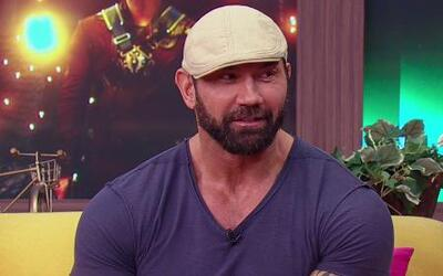 Dave Bautista sorprendió en 'Guardians of the Galaxy'