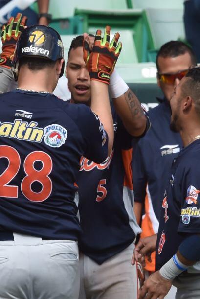 Balbino Fuenmayor bateó de 4-3 con dos remolcadas para ayudar a los Cari...