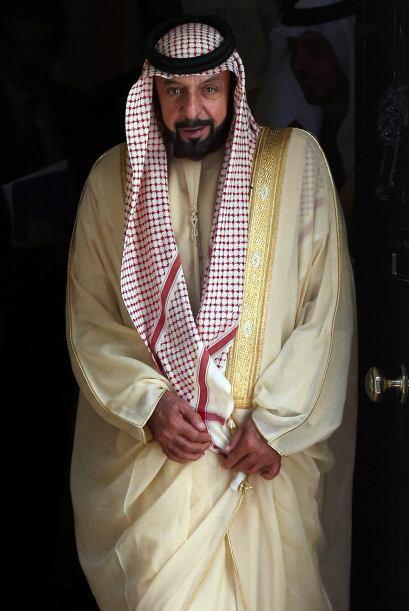 5. El jeque Jalifa bin Zayed bin Sultan Al Nahayan. El actual presidente...