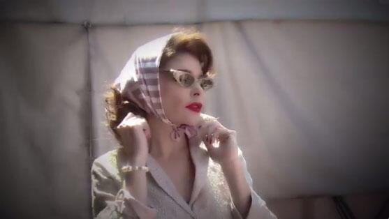 Itatí Cantoral como Silvia Pinal.