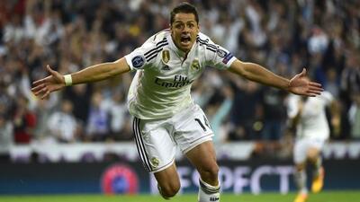 El delantero mexicano dijo estar en el mejor club del mundo.