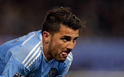 David Villa frustrado tras resultado