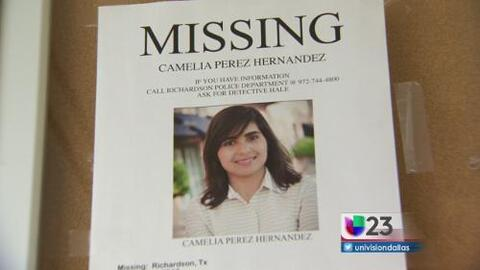Misteriosa desaparición de una mujer