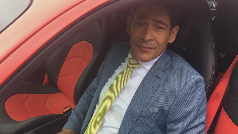 Detrás de cámaras: Johnny quiere un Ferrari como el de Alejandro Chabán