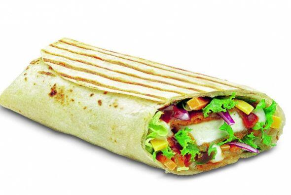 India - The Paneer Salsa Wrap. Foto tomada de Twitter