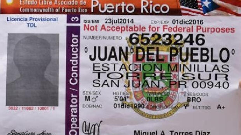 Licencia de Puerto Rico