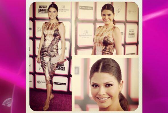 Este fue el vestido que eligió Ana para la fiesta de Los 50 M&aac...