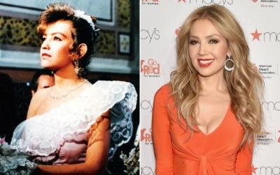 Thalía recuerda sus tiempos de 'Quinceañera'