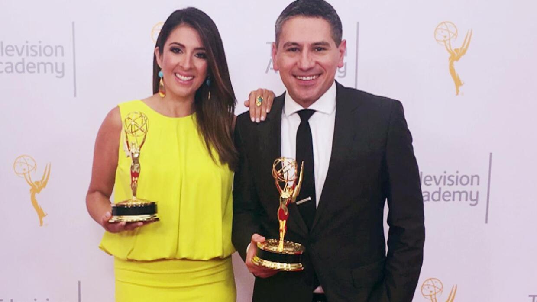 Ya es ganadora de un Emmy: Maity Interiano llegó con su trofeo a Despier...