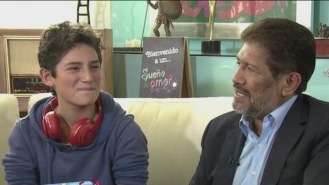 Emilio Osorio, hijo de Juan y Niurka Marcos, quiso reunir a sus padres