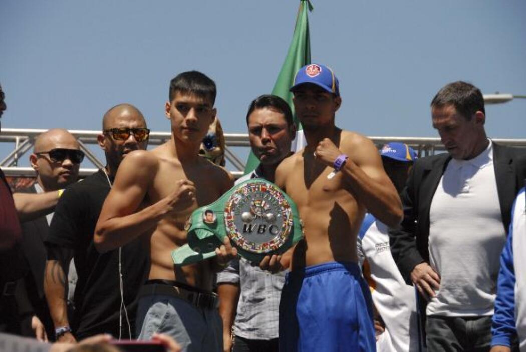 Figueroa detuvo la balanza en 134 libras, mientras que Cotto dio 133.
